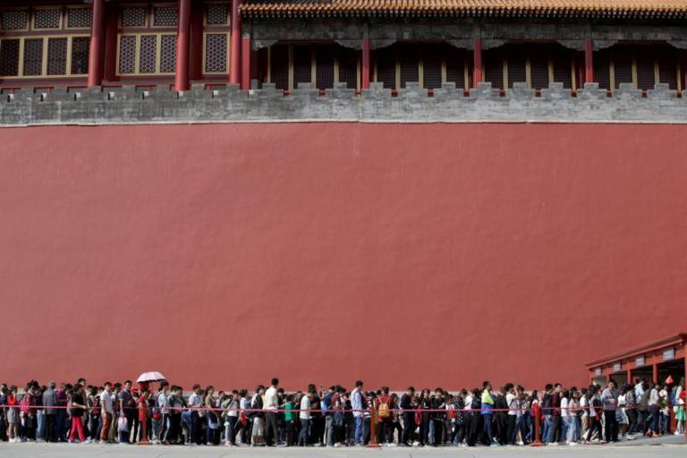 Παγκόσμιος θαυμασμός! Νέα τμήματα στο τείχος της περίφημης Απαγορευμένης Πόλης στο Πεκίνο! | Newsit.gr