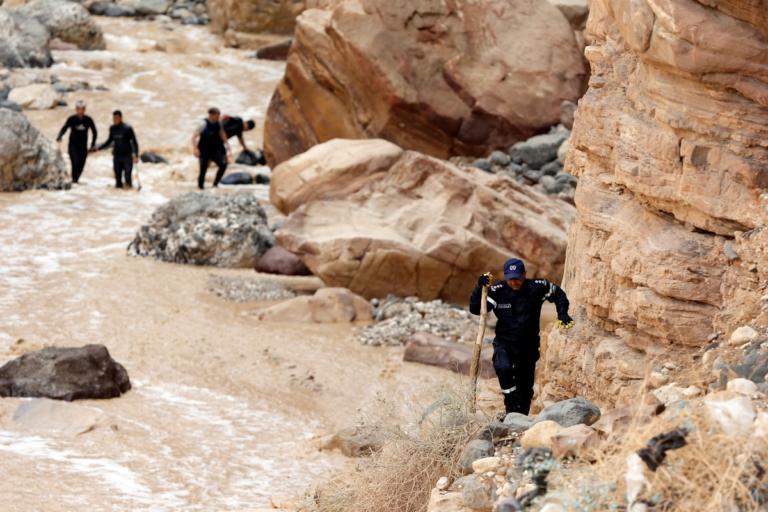 Φονικές πλημμύρες στην Ιορδανία – Τουλάχιστον 20 νεκροί   Newsit.gr