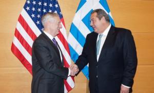 Πρόταση για βάσεις και ενίσχυση της συνεργασίας με ΗΠΑ από τον Πάνο Καμμένο
