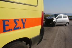 Πανικός με το καλημέρα στη Θεσσαλονίκη: Καραμπόλα με 6 αυτοκίνητα – Τρεις τραυματίες