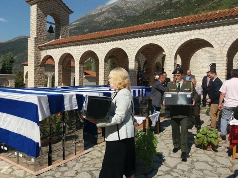 Αποτέλεσμα εικόνας για Ενταφιάστηκαν στην Κλεισούρα οι 573 νεκροί του ελληνοϊταλικού πολέμου