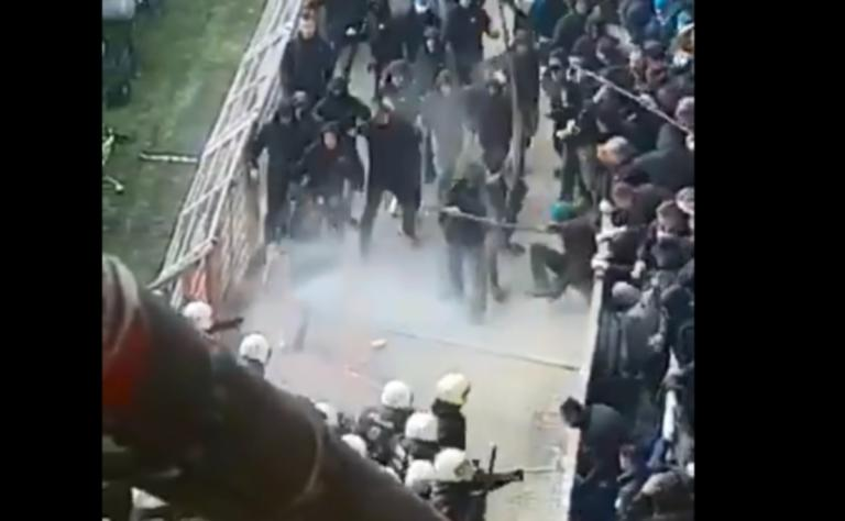 Άγριο ξύλο στο Ντόρτμουντ – Χέρτα! Συμπλοκές οπαδών με την αστυνομία – video | Newsit.gr