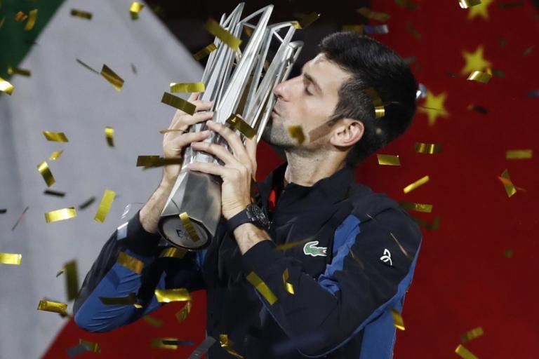 Shanghai Masters: Το… σήκωσε και αυτό! Ασταμάτητος ο Τζόκοβιτς  – video | Newsit.gr