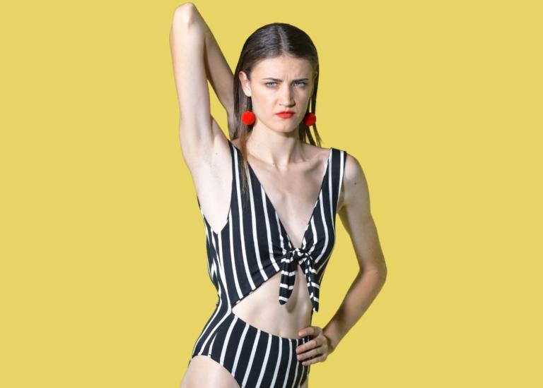 GNTM: Όταν η «Ρονάλντο» του reality μόδας Ειρήνη Ερμίδου πόζαρε γυμνή στην θάλασσα! [pic] | Newsit.gr