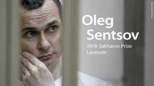 Στον Ουκρανό σκηνοθέτη, Όλεγκ Σέντσοφ, το Βραβείο Ζαχάρωφ 2018!
