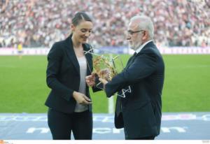 Κορακάκη: «Υποστηρίζω τον ΠΑΟΚ, θέλω να πάρει το πρωτάθλημα»