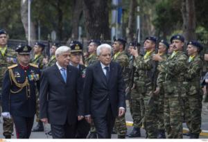 Για νέα Ελλάδα και νέα Ιταλία μίλησε ο Σέρτζιο Ματαρέλα!