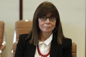 Η πρώτη δήλωση της 1ης στα ελληνικά χρονικά γυναίκας προέδρου του ΣτΕ