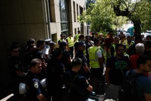 Στο εδώλιο 21 άτομα για την εμπρηστική επίθεση στις Σκουριές Χαλκιδικής το '13 – video
