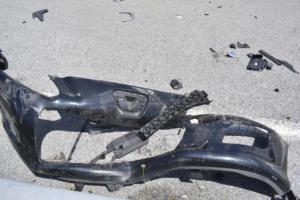 Καραμπόλα στα Τρίκαλα – Τραυματίστηκε αστυνομικός