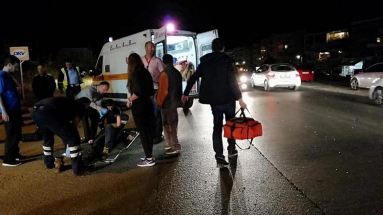 Σοβαρό τροχαίο στην είσοδο της Περαίας – video [pics] | Newsit.gr