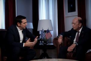Επενδύσεις στην Ελλάδα συζήτησε στο τηλέφωνο ο Αλέξης Τσίπρας με υπουργό του Τραμπ