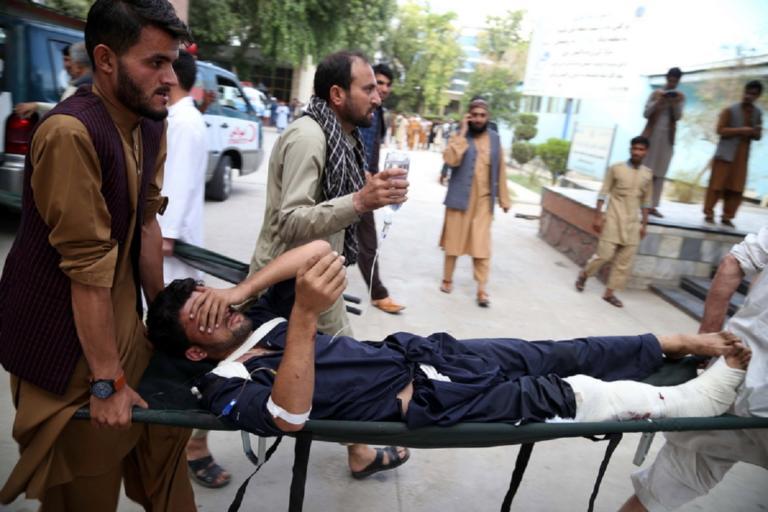 Νέα επίθεση αυτοκτονίας σε προεκλογική συγκέντρωση στο Αφγανιστάν! | Newsit.gr