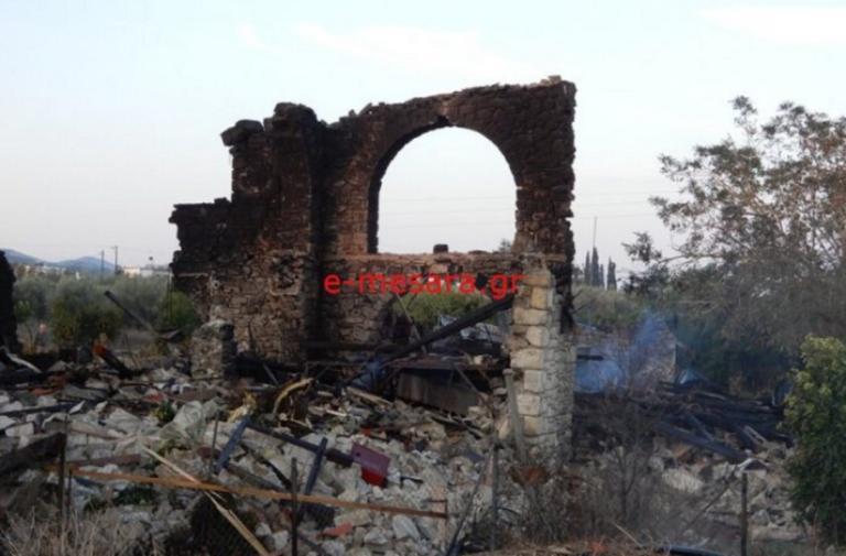 Κρήτη: Ισοπεδώθηκε οινοποιείο από την έκρηξη σε ρακοκάζανο – Ζημιές σε σπίτια και διακοπές ρεύματος – video | Newsit.gr