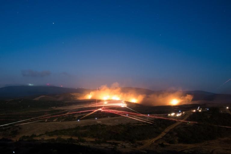 Φωτιά και ατσάλι από τον «Βελισάριο» στον Έβρο! [vids] | Newsit.gr