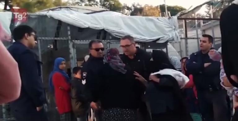 Δάκτυλος… Σαλβίνι; Η RAI «έκοψε» το ντοκιμαντέρ με τον νταή αστυνομικό στη Μόρια! | Newsit.gr