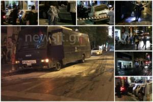 Επίθεση στο ΑΤ Ομονοίας: Στα «κάγκελα» οι αστυνομικοί! Καλούν σε συγκέντρωση – video