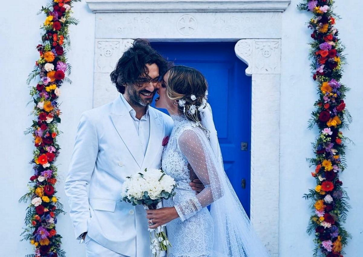 Αθηνά Οικονομάκου Gallery: Αθηνά Οικονομάκου: Οι λεπτομέρειες του γάμου της μέσα από