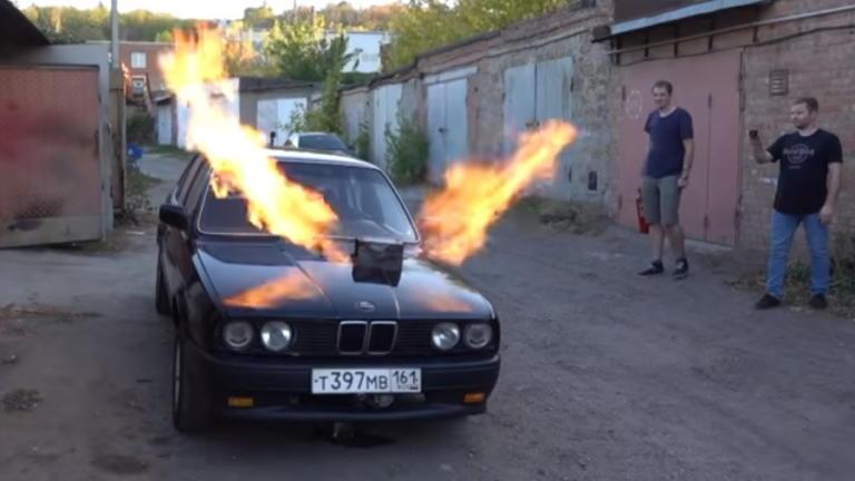 Απίθανο! Αυτή η 3άρα BMW έχει κινητήρα από… μαχητικό MiG! [vid] | Newsit.gr