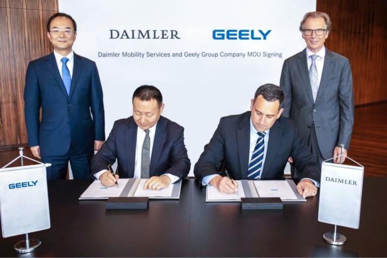 Daimler και Geely σχηματίζουν κοινοπραξία στην Κίνα | Newsit.gr