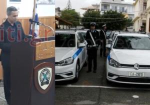 Συγκινημένος ο Μιχάλης Λεμπιδάκης – Αυτά είναι τα οχήματα που δώρισε στην Αστυνομία [pics]