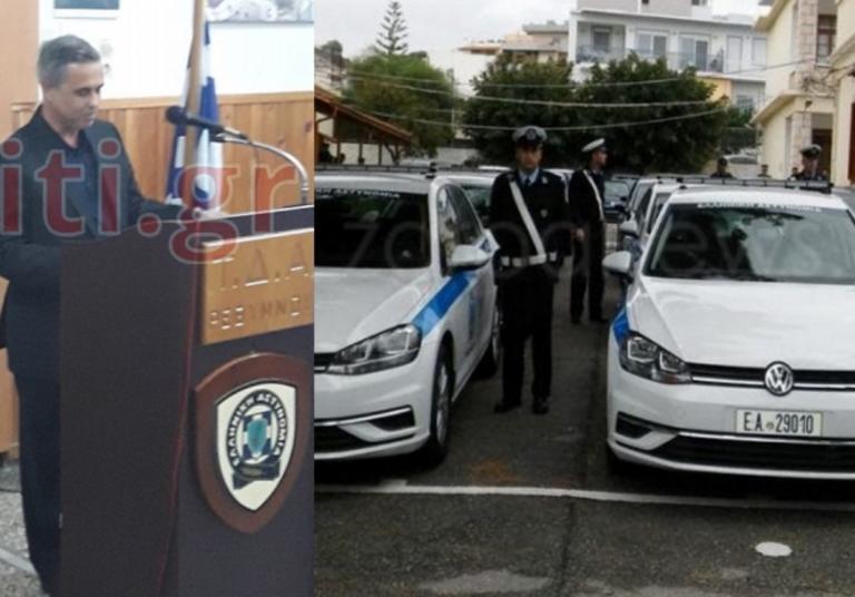 Συγκινημένος ο Μιχάλης Λεμπιδάκης – Αυτά είναι τα οχήματα που δώρισε στην Αστυνομία [pics] | Newsit.gr