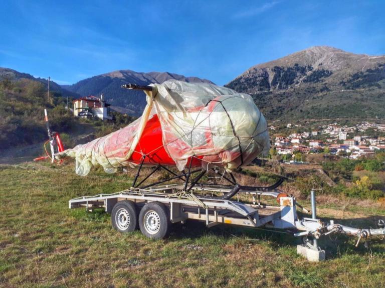 Μεσολόγγι: Αυτό είναι το ελικόπτερο που έκαναν φύλο και φτερό – Στο Καρπενήσι η λύση του μυστηρίου [pics] | Newsit.gr