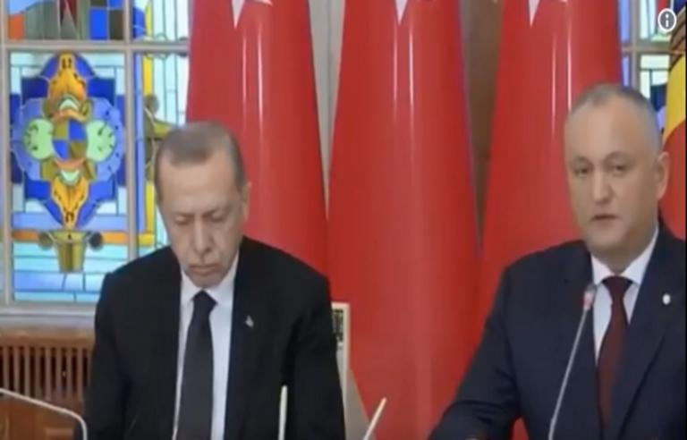 Αποκοιμήθηκε ο Ερντογάν σε συνέντευξη Τύπου! Video | Newsit.gr