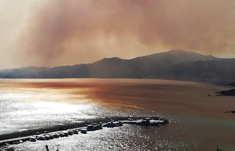 Μαίνεται η φωτιά στη Χαλκιδική! Κάτοικοι εγκαταλείπουν τα σπίτια τους   Newsit.gr