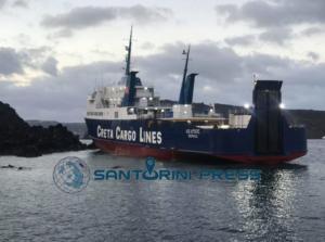 Σαντορίνη: Αυτοψία δύτη στη Νέα Καμένη για το πλοίο που προσάραξε – Οι εικόνες από το σημείο – video
