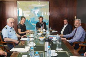 Συνάντηση Γεροβασίλη – Παπακώστα – Καμίνη για την αστυνόμευση στην Αθήνα