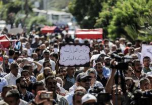 Γάζα: Χιλιάδες κόσμου στις κηδείες των επτά παλαιστινίων