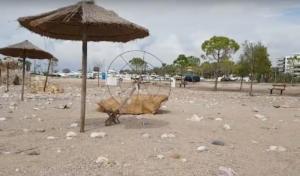 «Ζορμπά» κοίτα τι έκανες στην παραλία της Γλυφάδας!