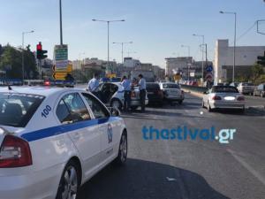 Κινηματογραφική καταδίωξη με πυροβολισμούς στη Δυτική Θεσσαλονίκη [pics]