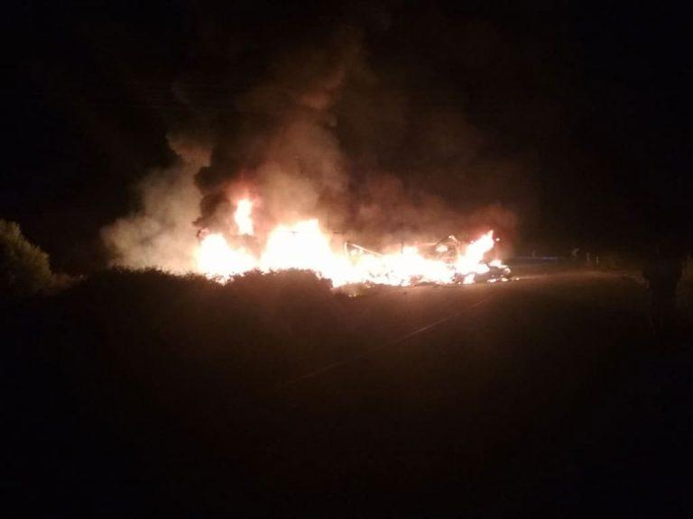 Καβάλα: Φλεγόμενα πτώματα στην άσφαλτο – Τα πλάνα που κάνουν το γύρο του κόσμου – 11 νεκροί σε τροχαίο δυστύχημα! | Newsit.gr