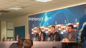 ΑΕΚ – Μπάγερν, Κόβατς: «Οι οπαδοί θα δώσουν ώθηση! Έχω μελετήσει το αντίπαλο»
