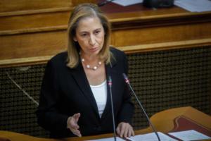 Ξενογιαννακοπούλου: Θα εφαρμοστεί ο κανόνας 1 προς 1 στο Δημόσιο