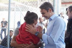 Μητσοτάκης – προσφυγικό: Απαραίτητη η γρήγορη αποσυμφόρηση των νησιών