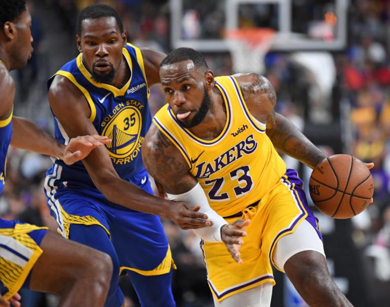 NBA: Έστειλαν το μήνυμα οι Λέικερς του ΛεΜπρον! Νίκησαν τους Γούοριορς – video | Newsit.gr