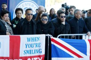 Στο Λέστερ η οικογένεια του αδικοχαμένου Ταϊλανδού! Κατέθεσε στεφάνι – video