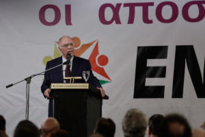 Λεβέντης: Δεν θα αφήσω να παραδοθεί το όνομα «Μακεδονία»