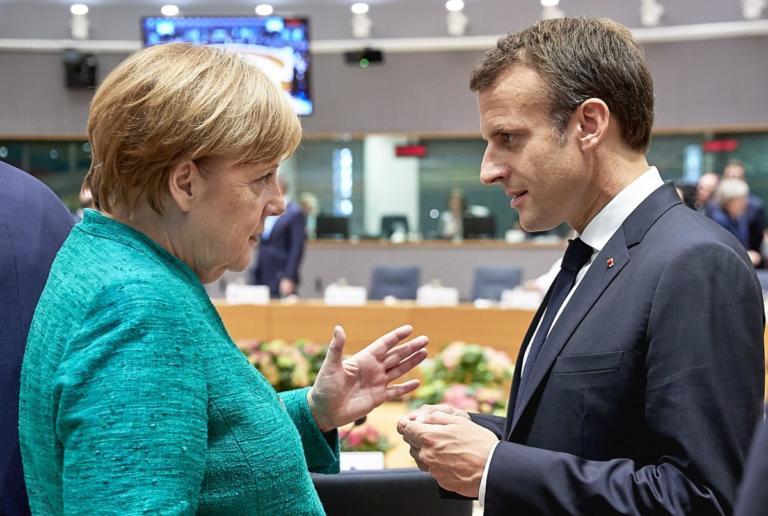 Μακρόν: Εξαιρετικά αξιοπρεπής η απόφαση της Άνγκελα Μέρκελ | Newsit.gr