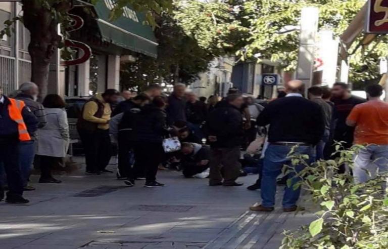 Άγρια συμπλοκή στο Μαρούσι! Του επιτέθηκε με μαχαίρι [pics] | Newsit.gr