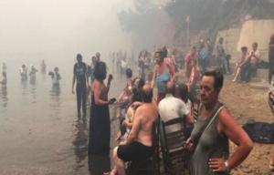 Σοκαριστικές καταθέσεις επιζώντων από τη φωτιά στο Μάτι