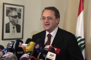 Μήνυμα… συμφιλίωσης του Ρώσου αναπληρωτή ΥΠΕΞ: Δεν σκοπεύουμε να θυσιάσουμε τη στενή σχέση μας με την Ελλάδα