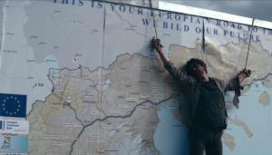 Ταινία – πρόκληση από τα Σκόπια – Εσταυρωμένος πάνω στον χάρτη της Ελλάδας [video]