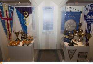 Θεσσαλονίκη: Έτσι προκλήθηκε η φωτιά στο ολυμπιακό μουσείο – Καπνοί στην αίθουσα με τα εκθέματα!