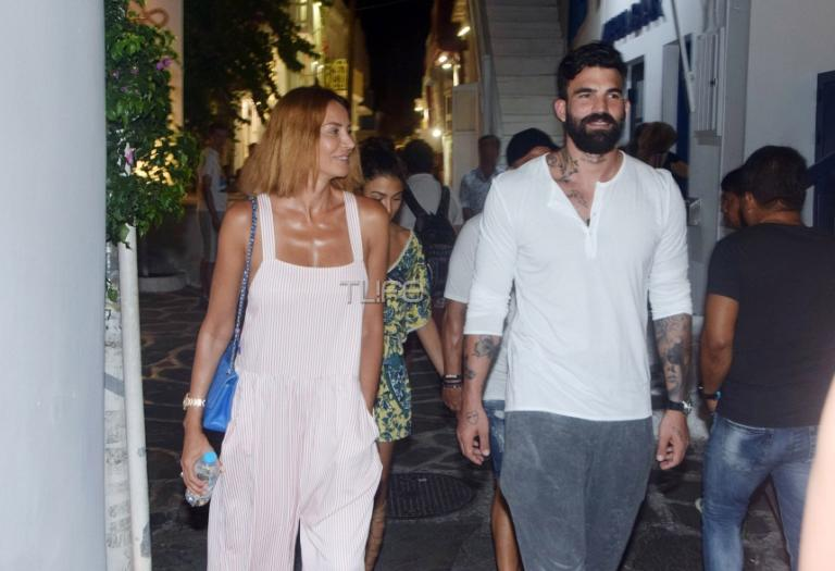 Μαρία Καλάβρια – Δημήτρης Αλεξάνδρου: Με ποιο διάσημο ζευγάρι έπαιζαν χθες μπιρίμπα; video   Newsit.gr