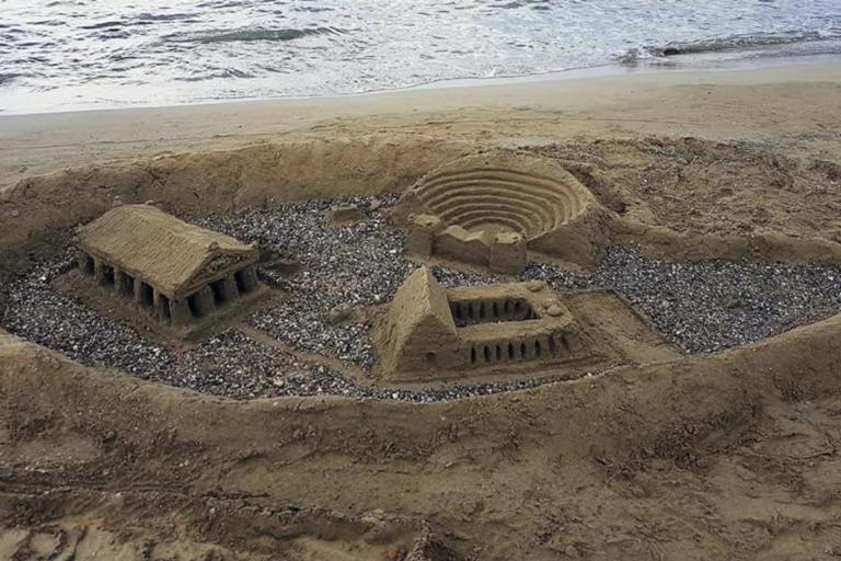 Αργολίδα: Έργα τέχνης στην παραλία – Έχτισαν παλάτια στην άμμο και άφησαν άφωνους τους πάντες [pics] | Newsit.gr
