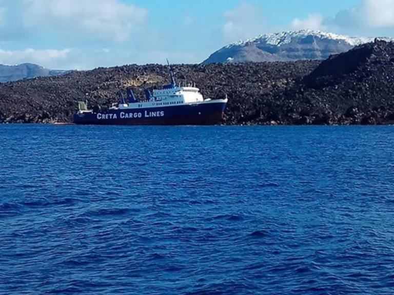 Σαντορίνη: Εισροή υδάτων για το φορτηγό πλοίο «Νέαρχος»! | Newsit.gr